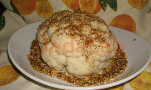 Cavolfiore alla frutta secca in microonde