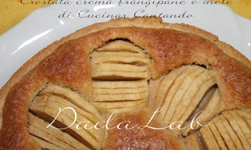 Crostata crema frangipane e mele