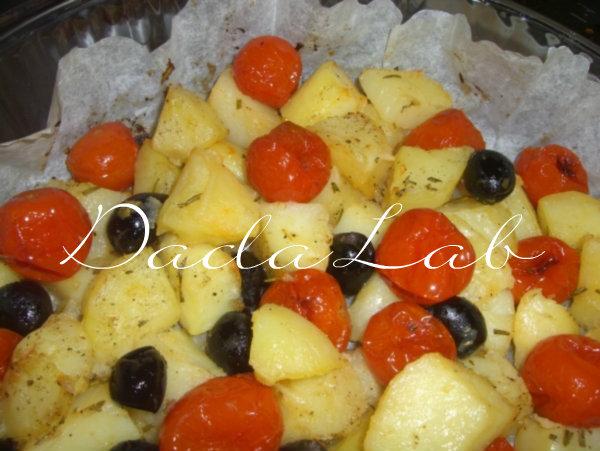 pomodorini patate olive