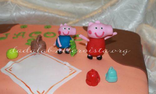 Torta Peppa Pig e George