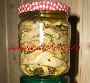 Zucchine secche sottolio