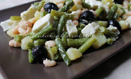Insalata tiepida di verdure e Feta