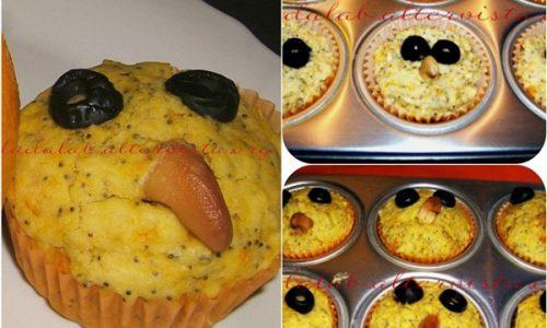 Plumcake salato alla zucca e semi di papavero