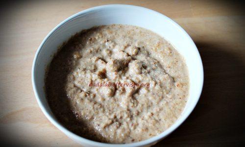 Salsa di arachidi per carne e crostini