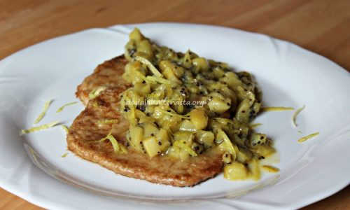 Scaloppine al kiwi
