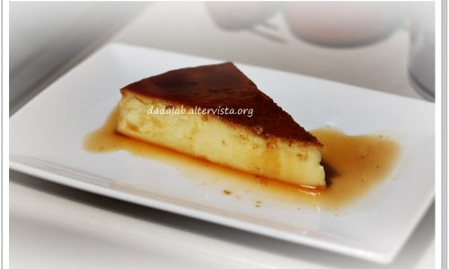 Crème caramel in pentola a pressione
