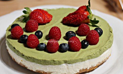 Cheesecake al the Matcha