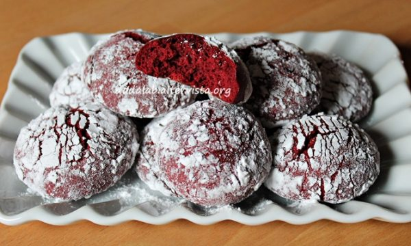 Red Velvet Crinkles